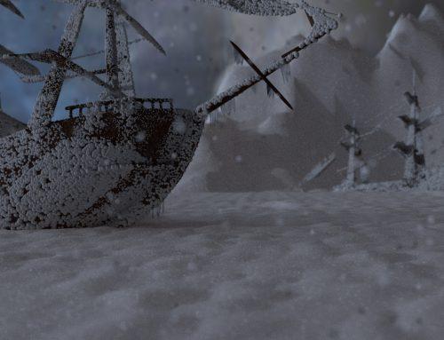 Digitales Bühnenbild 2016-Frozen-Aufführung
